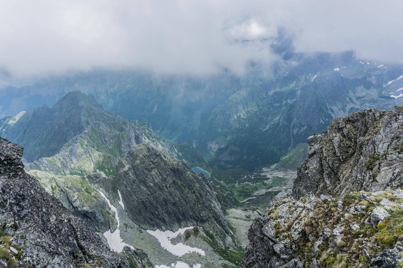Польські Татри - вершина Риси